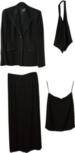 DANIEL & REBECCA Black Tuxedo Suit includes Jacket, Vest, Skirt and Pants Sz 2