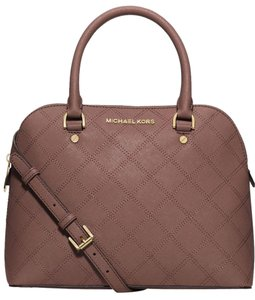 Michael Kors Satchel in Dusty Rose