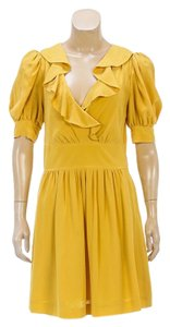 Chlo short dress Yellow on Tradesy