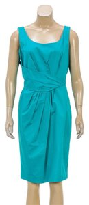 Moschino short dress Teal Green on Tradesy