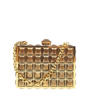 Judith Leiber Crystal Gold Clutch