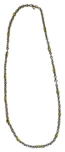 J.Crew Yellow And Faux Gold Necklace