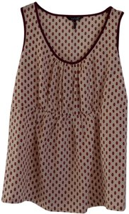 Daisy Fuentes Top pink pattern