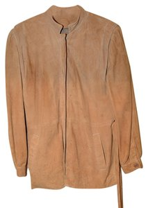 Centro Moda Pelle Caribou Vintage 60's Tan Leather Jacket