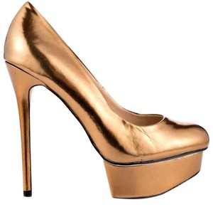 Shoemint Copper Pumps