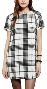 Urban Outfitters short dress White, Black Winter Shift on Tradesy