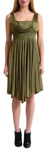 Versace Jeans Collection short dress Khaki Green on Tradesy