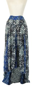 Free People Maxi Skirt multi-color