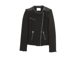 IRO Chanel Leather Quilted Leather Jacket