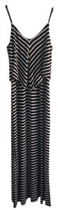 Black/White Maxi Dress by Mossimo Supply Co.