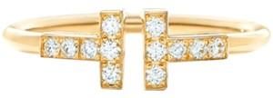 Tiffany & Co. GOLD TIFFANY DIAMOND RING