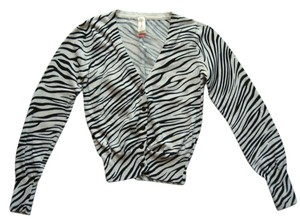 No Boundaries Zebra Zebra Cardigan