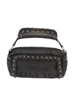 Versace Nylon Black Clutch
