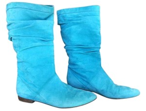 Brian Atwood Turquoise Boots