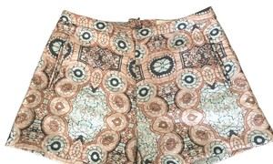 H&M Dress Shorts Multi (Tan/Blue)
