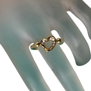 Tiffany & Co. Tiffany & Co Elsa Peretti Open Heart Diamond Ring