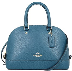 Coach Purse Satchel in Atlantic Blue