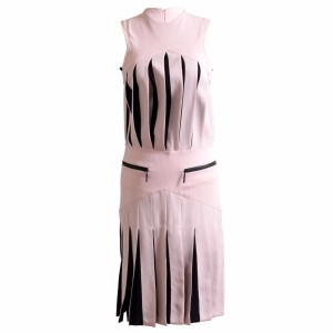 Versus Versace short dress Pink/Black on Tradesy