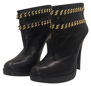 Tory Burch Black & gold Boots