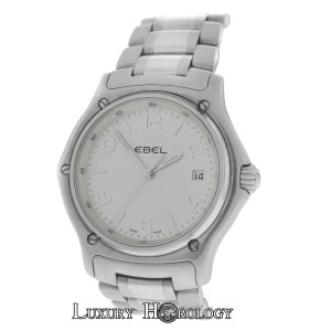 Ebel Authentic Men's Ebel 1911 E9187251 Date Stainless Steel Quartz Watch