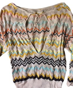 Missoni Zigzag 70s Retro Designer Sweater