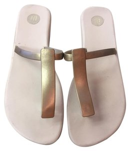 Melissa Tan/Gold Sandals