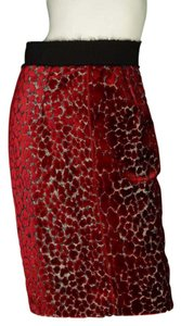 Giambattista Valli Velvet Pencil Skirt