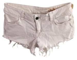 Siwy Cut Off Shorts White