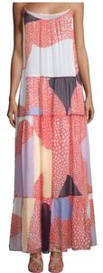 Multi Maxi Dress by Diane von Furstenberg Print Silk Maxi
