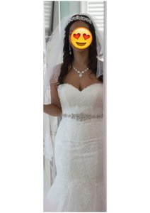 David's Bridal Empire Wedding Dress