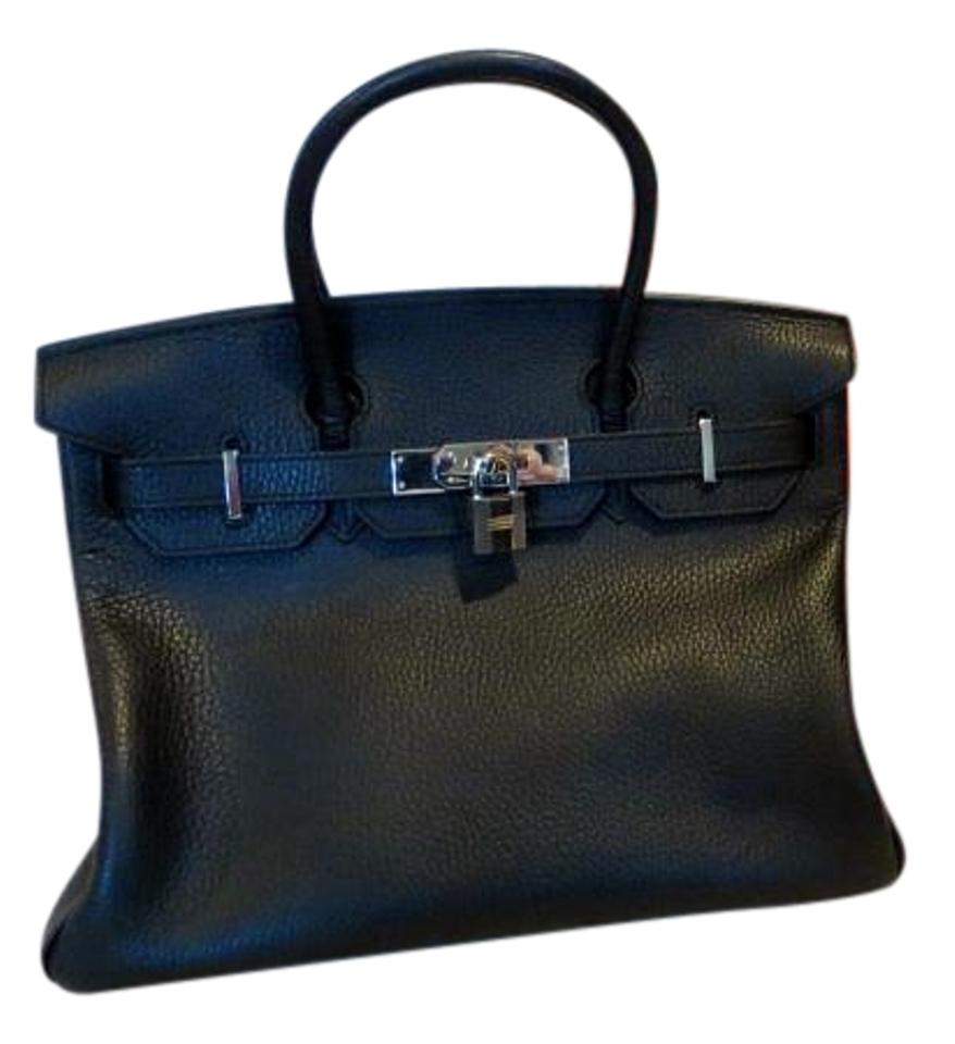 d7a6863d6607 Hermès Birkin In Box Palladium Chanel Louis Vuitton Satchel in Black Image  0 ...