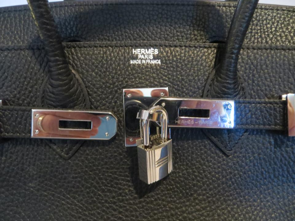 ade8a1979f8d Hermès Birkin In Box Palladium Chanel Louis Vuitton Satchel in Black Image  10. 1234567891011
