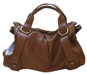 Kooba Satchel in Caramel