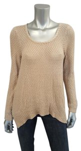 Anthropologie Fall Shimmer Asymmetric Sweater