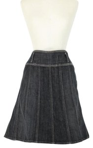7 For All Mankind Skirt dark gray