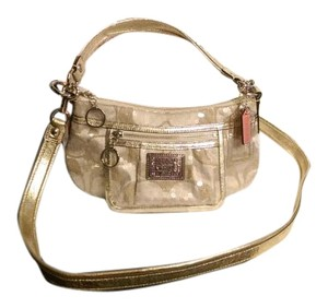 Coach Poppy Signature Cross Body Bag