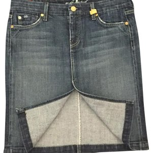 7 For All Mankind Skirt Jean