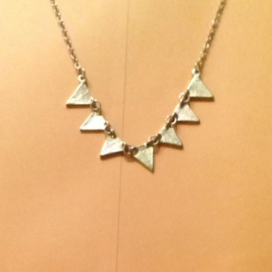 Other Gold Triangle Short Hang Necklace