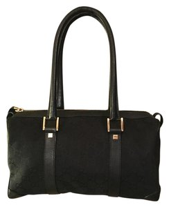 Gucci Gg Satchel in Black