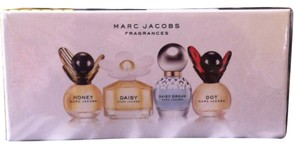 Marc Jacobs $98 NEW 4 Bottles Honey,Dot,Daisy,Daisy Dream,4 ML Each