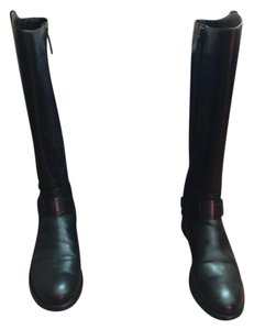 Tory Burch Riding Boot Black Boots