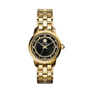 Tory Burch Tory Burch TRB1024 Tory Women's Watch Gold Tone Black Dial 28 mm