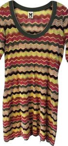 M Missoni short dress Multi Colorful Luxury Work Date Night Night Out on Tradesy
