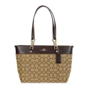 Coach Sophia Light Goldkhaki Tote