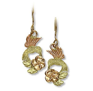 Landstrom's Landstrom's Black Hills Gold Hummingbird Earrings