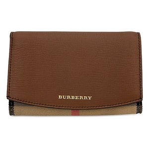 Burberry House Check Leather Tote