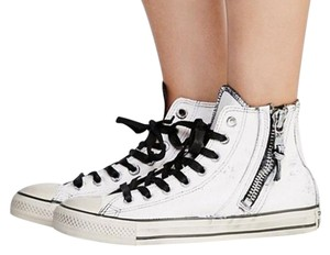 Converse White and Black Athletic