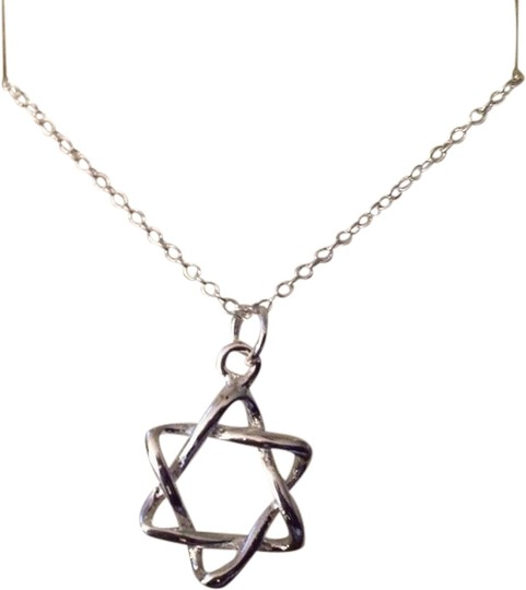 Preload https://item2.tradesy.com/images/sears-silver-free-shipping-filled-star-of-david-on-a-18-chain-lovely-on-the-necklace-1958991-0-0.jpg?width=440&height=440