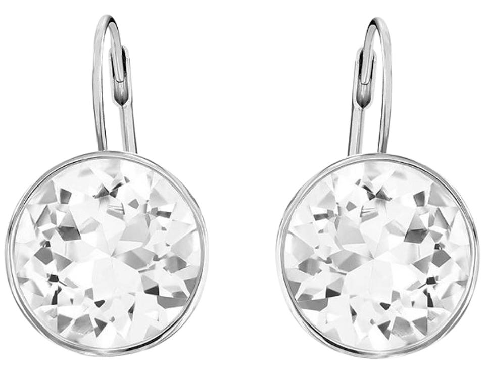 57a9358ea Swarovski Silver` Bella Pierced Earrings - Tradesy