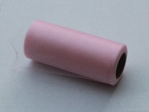 Pink Shimmer Tulle Roll - 25 Yard X 6 In - Shimmer Tulle Roll - 25 Yard Tulle Roll